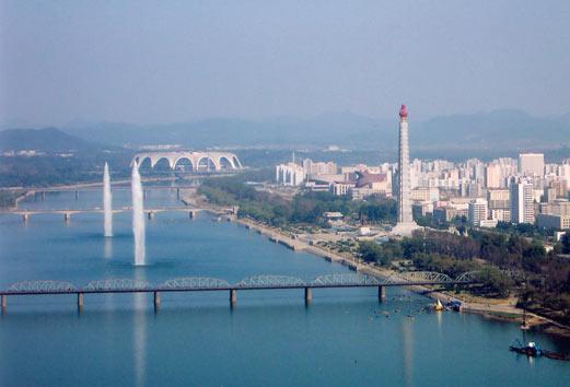 ...столицы Северной Кореи - г.Пхеньян.