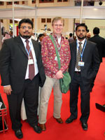 Май 2010. На выставке Bahrain International Travel<br /> Expo