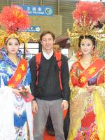 Октябрь 2010. На выставке China International Travel Market