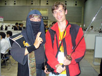 Май 2009. На выставке Yokoso! Japan Travel Mart